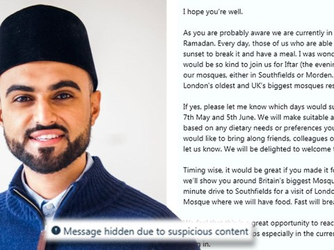Muslim's Ramadan invite flagged up as 'suspicious' by Twitter