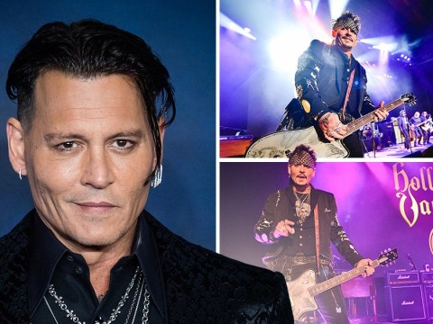 Johnny Depp used 'anger' over 'untrue' marriage and career rumours into Hollywood Vampire's new album