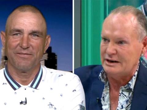 Vinnie Jones reveals why he grabbed Paul Gascoigne's crotch as pair reunite for tour
