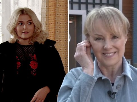 Coronation Street's Sally Dynevor won't be next to quit the cobbles as she insists cast are 'really happy' with new boss