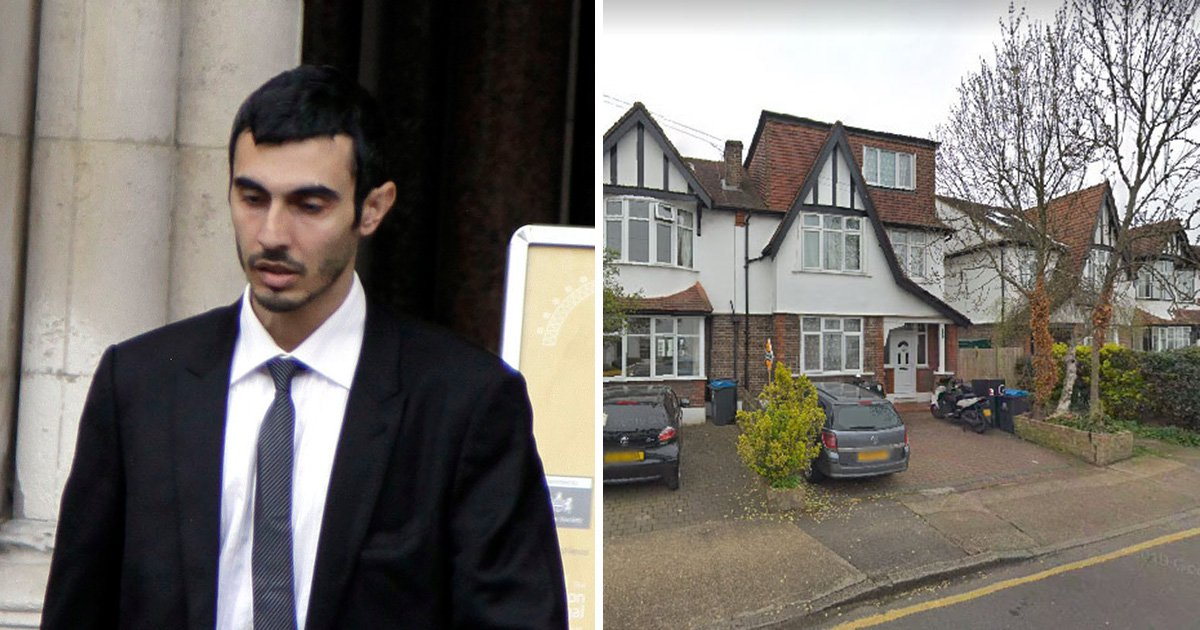Salih Mahmud and brother Joesef Moustafa went to court to fight over a £1,000,000 home in Surbiton