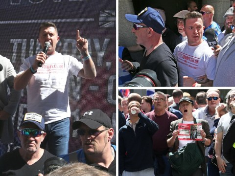 Tommy Robinson slams 'politically motivated' case as he arrives at Old Bailey