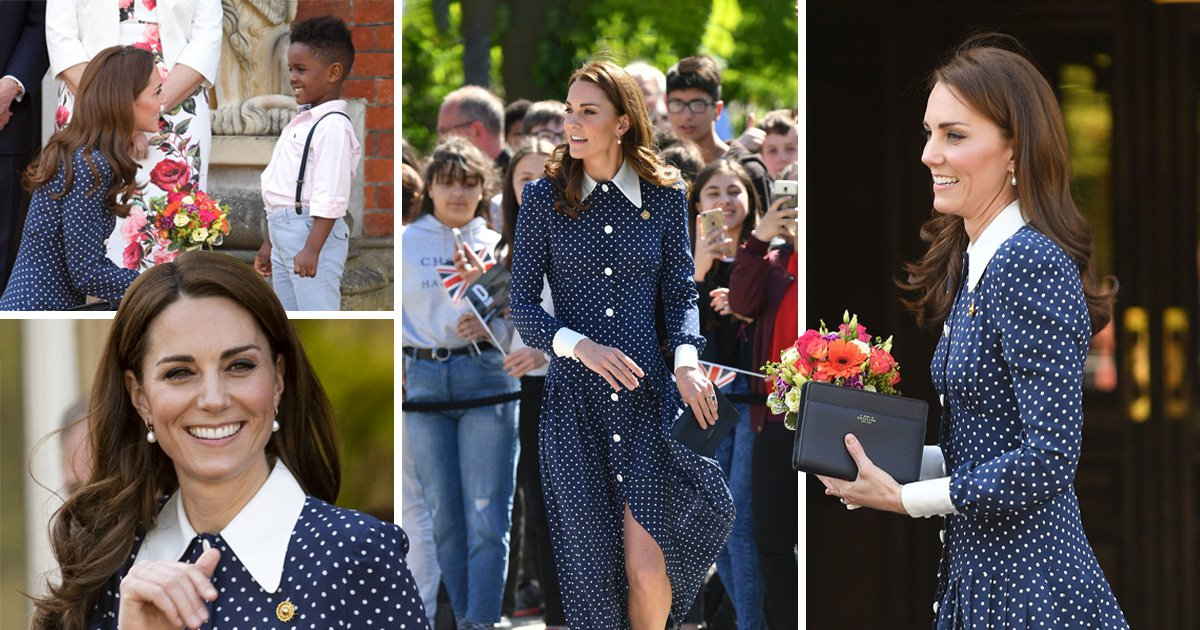 Kate Middleton visits D-Day exhibition at WWII codebreaker HQ where grandmother worked