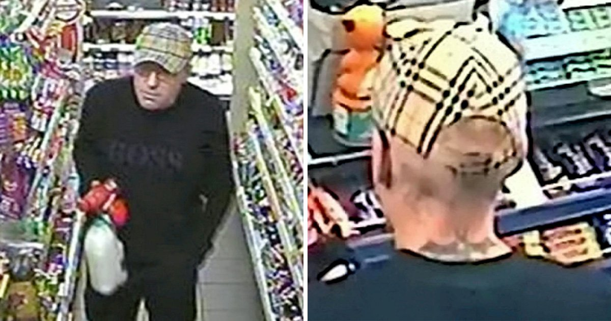 A man with a distinctive bat tattoo is wanted by police