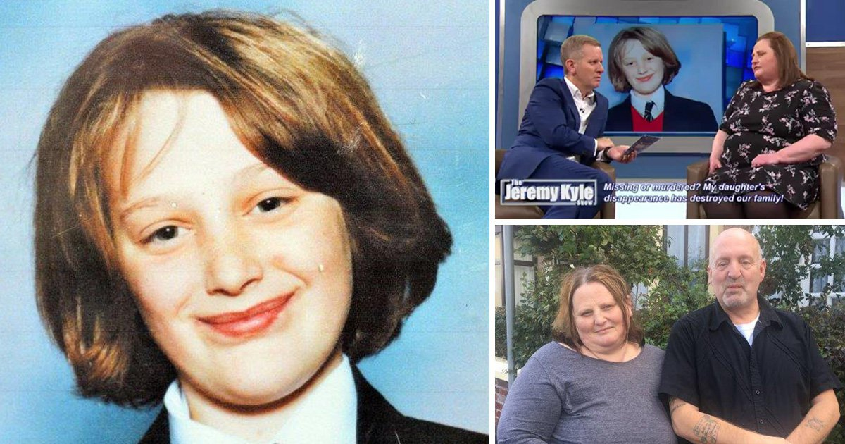 Cross-dressing dad of missing schoolgirl 'felt like a freak' on Jeremy Kyle Show