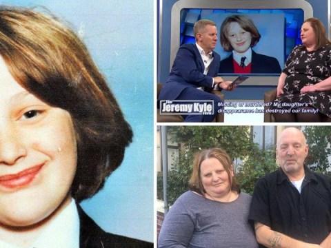 Cross-dressing dad of missing schoolgirl 'felt like a freak' on Jeremy Kyle Show