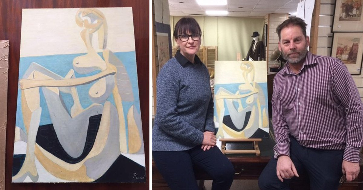 SEC_67605109 Painting bought at car boot sale could be £750,000 Picasso