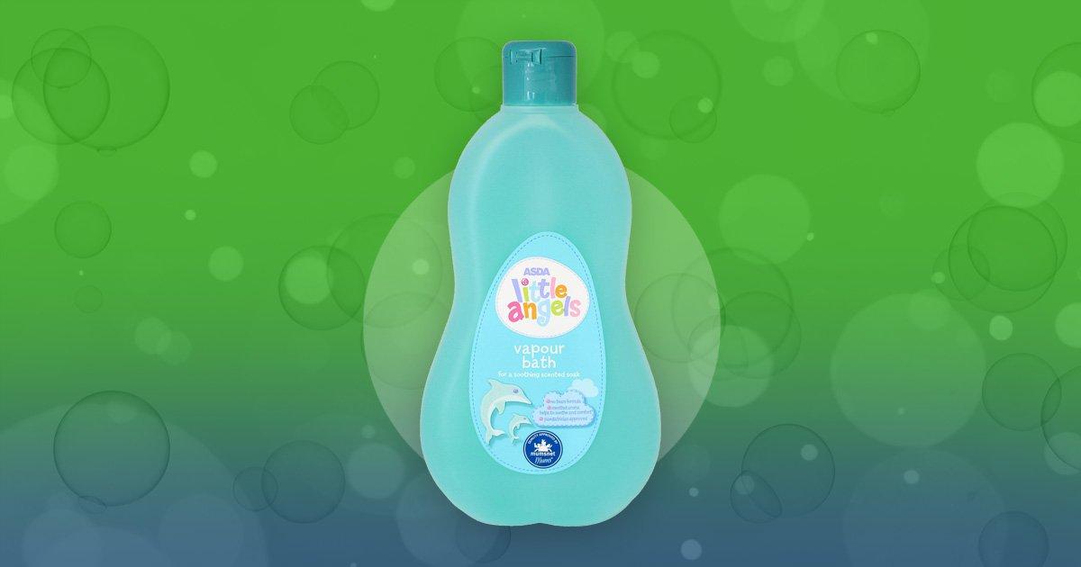 Mums praise 87p Asda bubble bath for helping babies sleep through the night