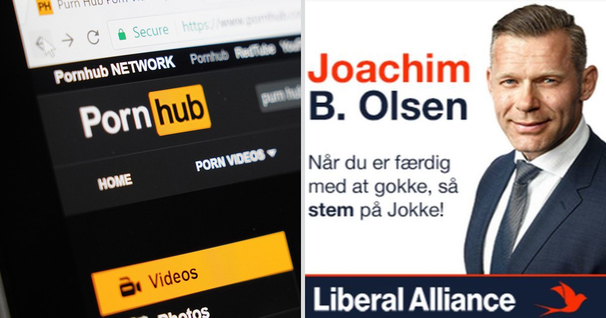 Danish Mp Puts Advert On Porn Site Because Thats Where The Voters Are