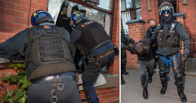 A father has complained after he said Greater Manchester Police banged on his door at 5am looking for a previous occupant