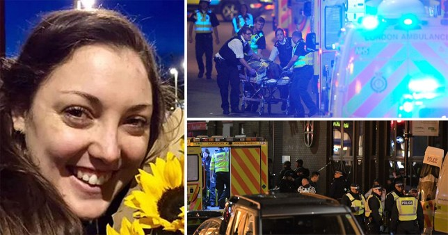 Kirsty Boden, the Angel of London Bridge, was stabbed by three attackers for rushing to help wounded victims
