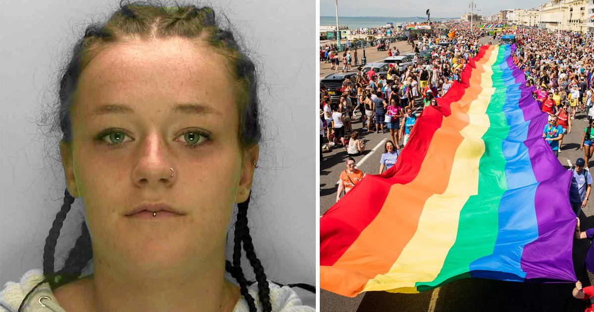 Homophobic woman launched wine bottle at man's head after Brighton Pride