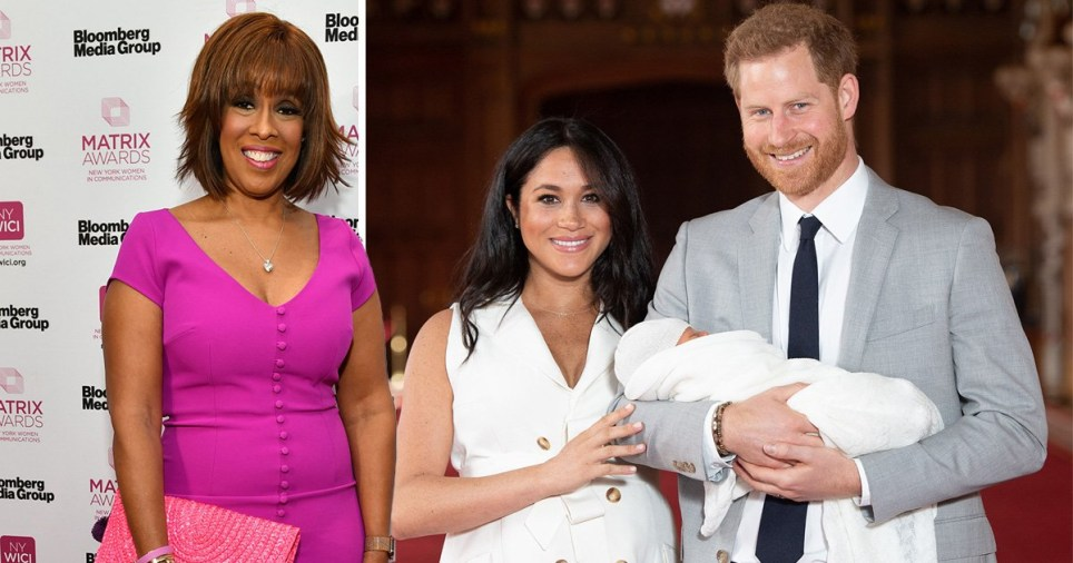 Meghan and Harry are friends with American TV star Gayle King