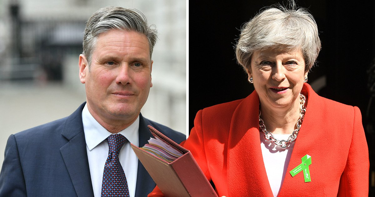 Theresa May must offer second referendum as 'only way to break Brexit deadlock'
