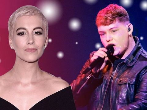 Michael Rice gets survival tips from SuRie ahead of his Eurovision performance: 'Go out there and smash it'