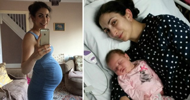 Sima Davarian gave birth and went into the menopause after being treated for bowel cancer