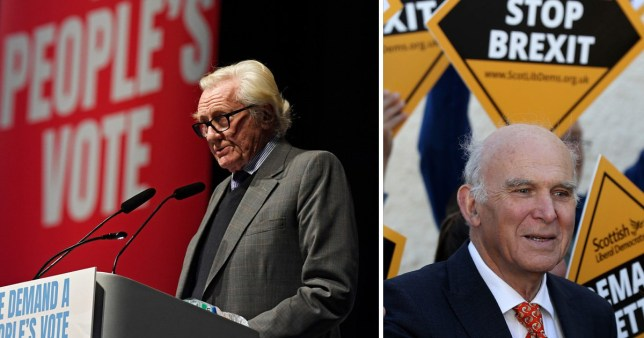 SEC_68319362 Lord Heseltine is voting Lib Dem in EU elections because Tories are 'infected'