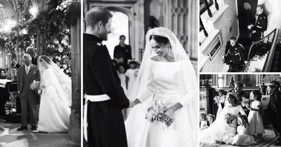 harry and meghan share behind the scenes pictures on first wedding anniversary metro news harry and meghan share behind the