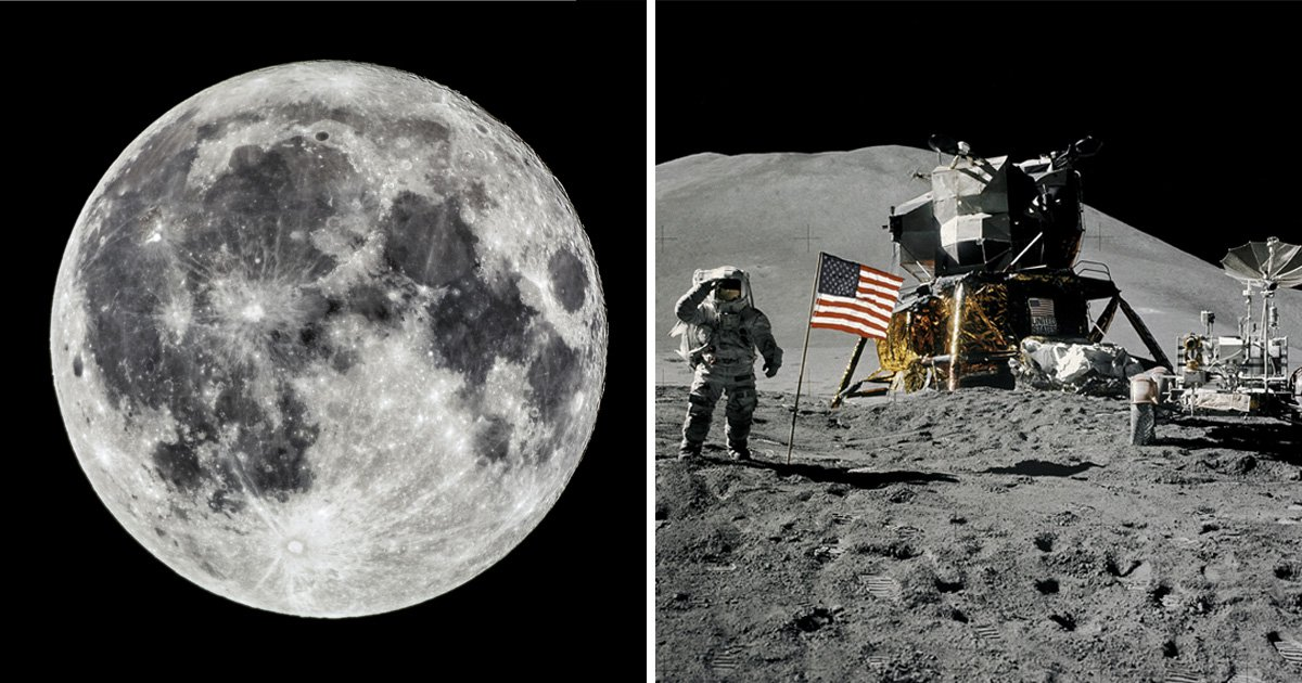 Astronauts 'could live in caves on the moon' when they return in 2024