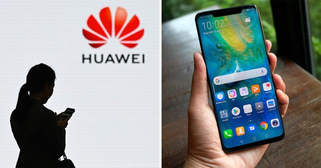 Huawei has reportedly been blocked from using Google's apps and services (Getty)