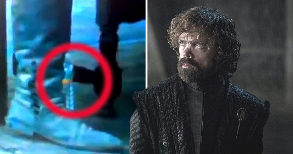 Game Of Thrones fail: Water bottle spotted in finale scene