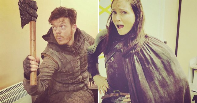 Sophie Ellis Bextor and husband Richard Jones filmed for Game Of Thrones episode A Long Night