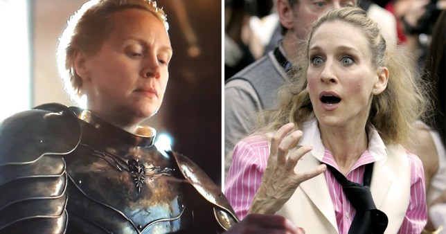 Carrie Bradshaw and Brienne of Tarth