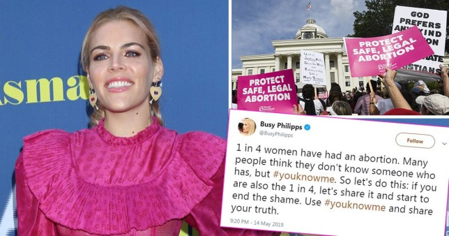Busy Phillips started the YouKnowMe hashtag to talk about abortion