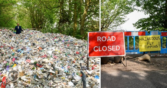 A local councillor said the cleanup operation would cost 'thousands'