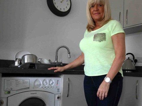 Entire home vibrates every time woman turns washing machine on
