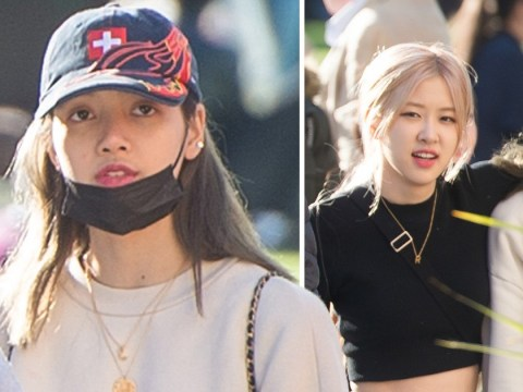 BLACKPINK's Lisa and Rosé spotted out and about in Manchester ahead of Arena gig