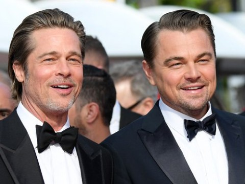 Brad Pitt and Leonardo DiCaprio twinning in suits at Cannes is the best ad Once Upon A Time In Hollywood could have asked for