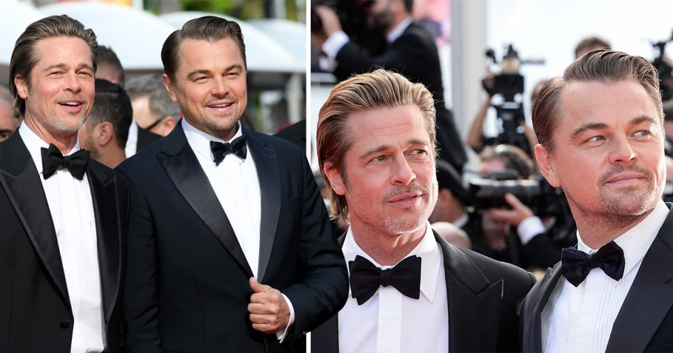 Brad Pitt and Leonardo DiCaprio at Cannes 2019