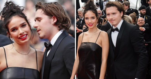 Brooklyn Beckham and Hana Cross at Cannes