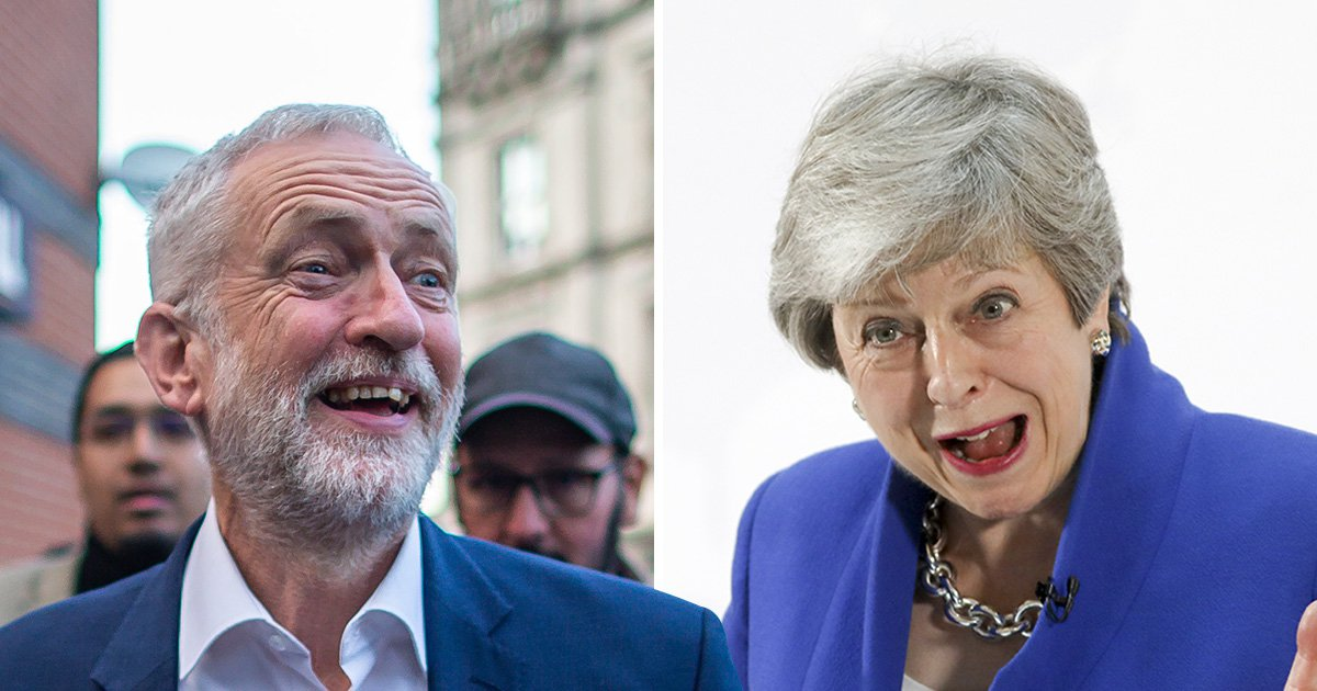 Theresa May begs Jeremy Corbyn to give her another chance to deliver Brexit