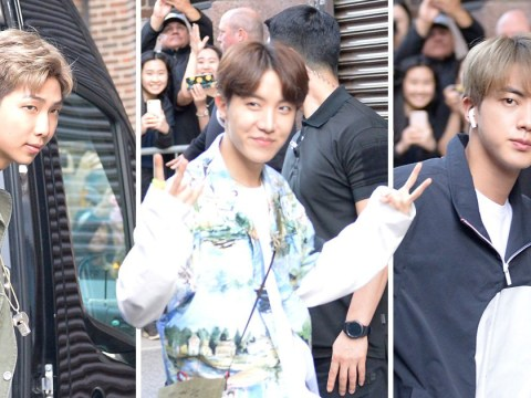 BTS continue to slay street style as they send fans wild in New York City