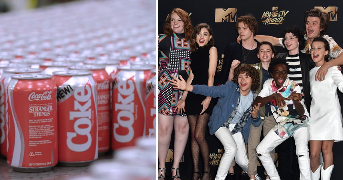 Coca-Cola is bringing back New Coke because of Stranger Things