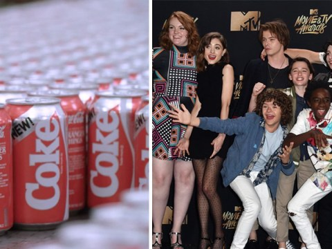 Coca-Cola is bringing back controversial New Coke because of Stranger Things