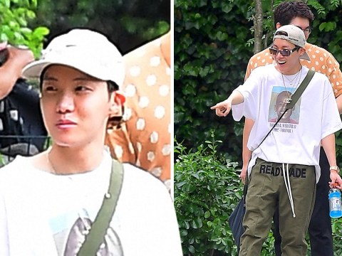 BTS star J-Hope heads for New York City's Central Park Zoo