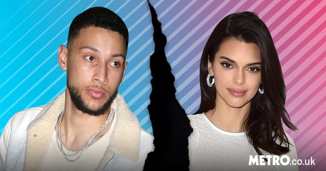 Kendall Jenner and her boyfriend Ben Simmons amid split reports