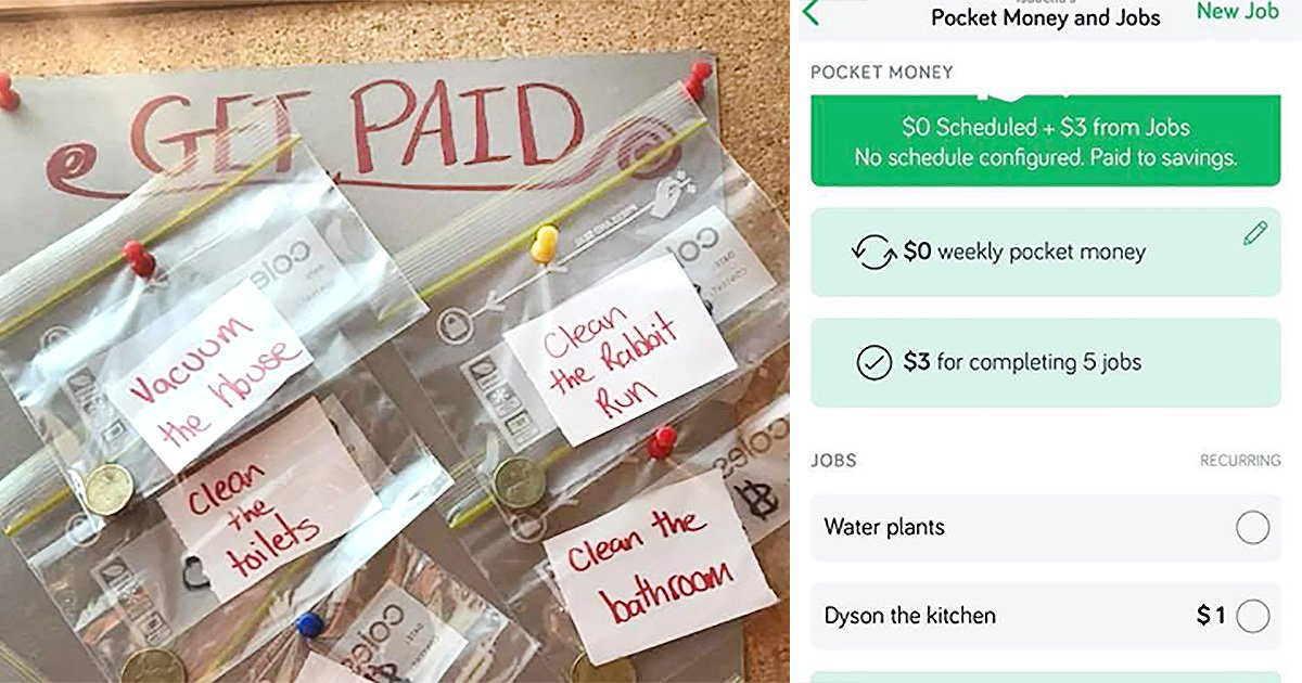 Mum reveals hack to get her kids to help out around the house