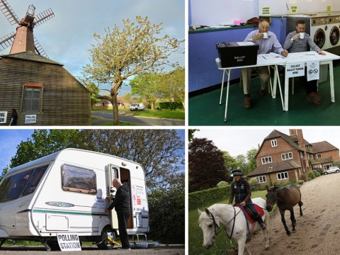 Britain's weird and wonderful polling stations