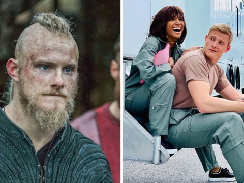 Vikings star Alexander Ludwig is starring in a Netflix Christmas movie and we can't believe we're talking about Christmas already
