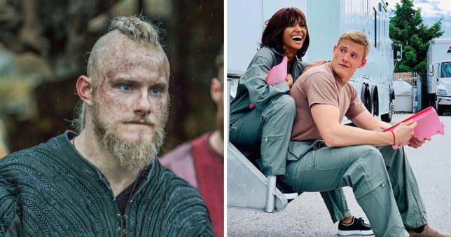 A Star For Christmas.Vikings Alexander Ludwig In Netflix Movie Operation