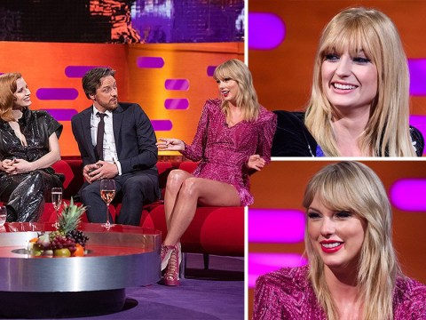 Taylor Swift has run-in with ex Joe Jonas' new wife Sophie Turner on Graham Norton sofa