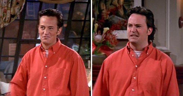 Friends' Chandler had major hair transformation as another gaffe