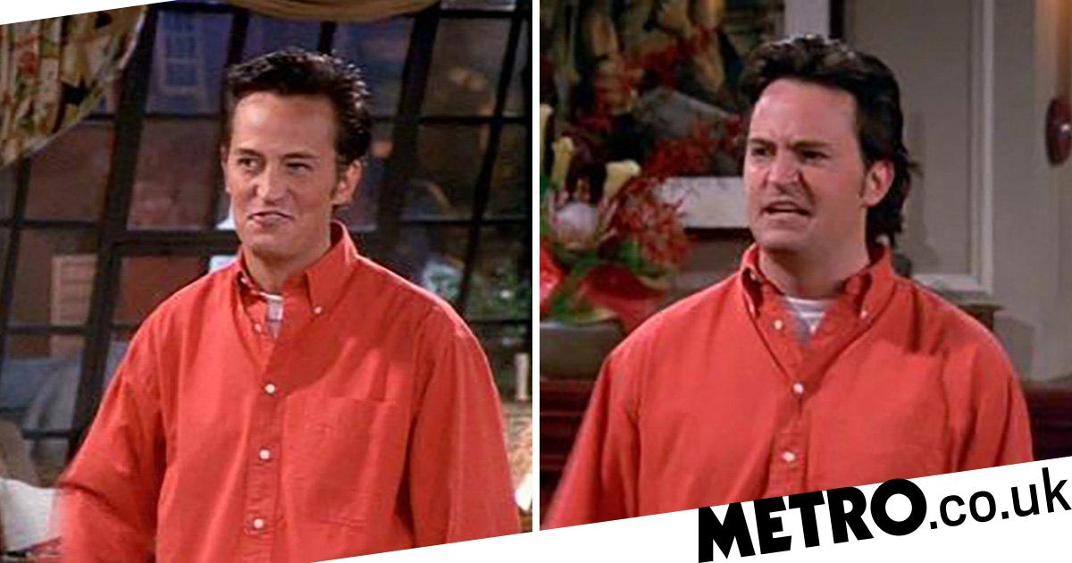 Friends Chandler Had Major Hair Transformation As Another Gaffe Comes To Light Metro News