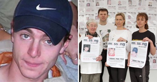 Luke Durbin went missing 13 years ago