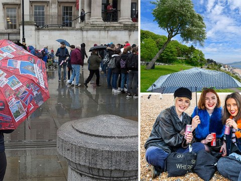Bank holiday weekend weather: A 'disappointing' mix of sunshine and showers