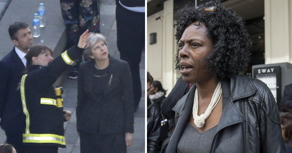 Theresa May criticised for claiming Grenfell response was a success